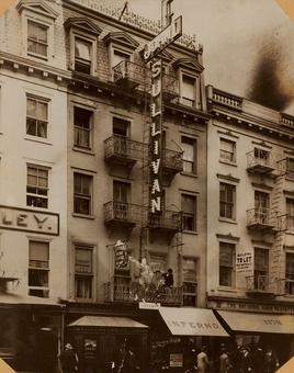 John L. Sullivan's Saloon, 1177 Broadway - New York, NY, USA, 1893